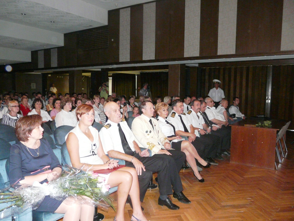Измаильский факультет морской академии отметил 10-летие.