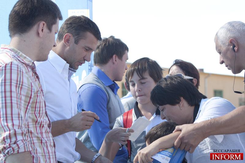 Андрей Шевченко посетил Измаил. ФОТОрепортаж (ОБНОВЛЕНО, 17:40)