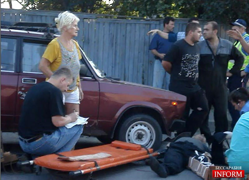 "ДТП в Измаиле: На Некрасова ""ВАЗ"" сбил велосипедиста. ФОТО"