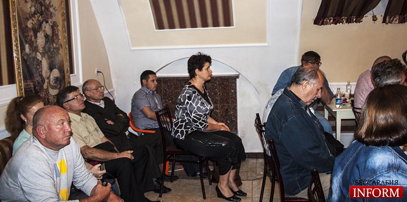 Измаил. Пресс-конференция Владимира Боделана. Фото