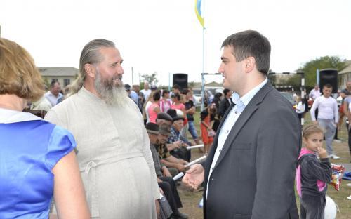 Болградский р-н. Дмитровцы дали первые наказы Александру Борнякову
