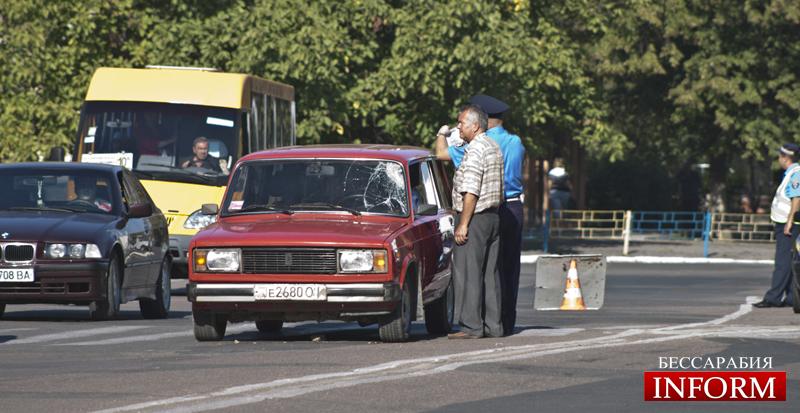 Измаил. ДТП на площади Мира: есть пострадавшие