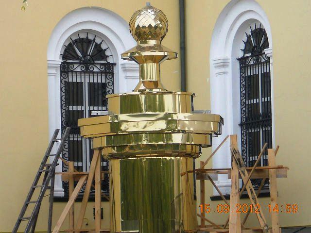 В Болграде продолжается восстановление Спасо-Преображенского собора