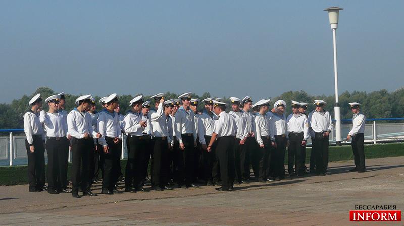 Измаил. Курсанты морской академии приняли присягу. Фото, видео