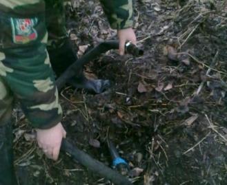 Вчера в Одесской области пограничники обнаружили два спиртопровода.