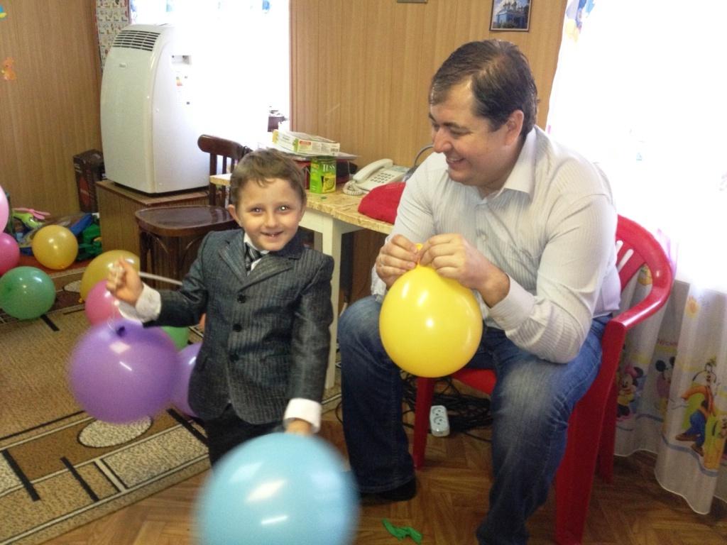 фотография-3 Измаил. Владимир Боделан в гостях у реабилитационного центра «Альнур»