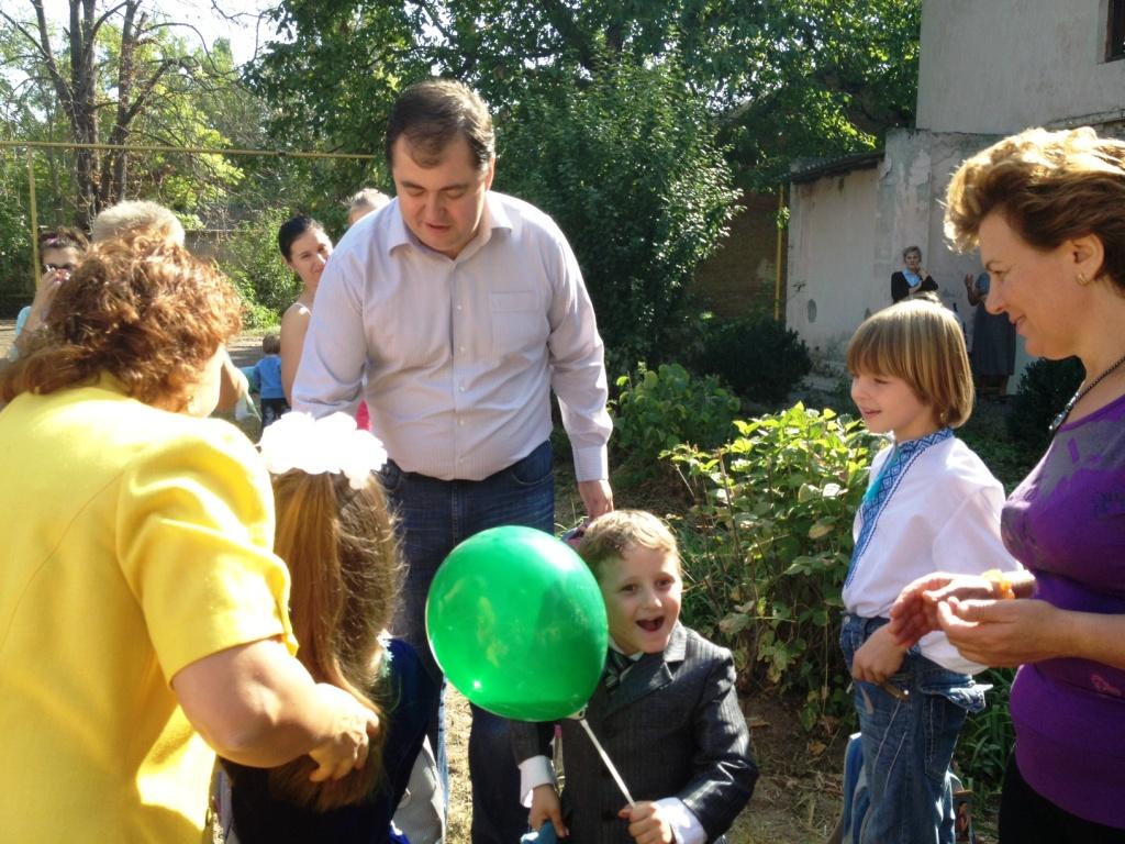 фотография-8 Измаил. Владимир Боделан в гостях у реабилитационного центра «Альнур»