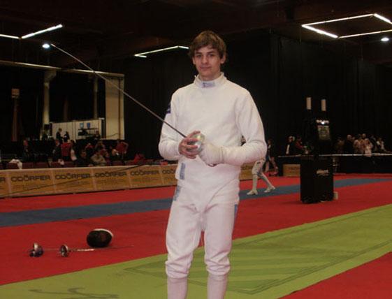 18-летний измаильчанин стал чемпионом Украины по фехтованию