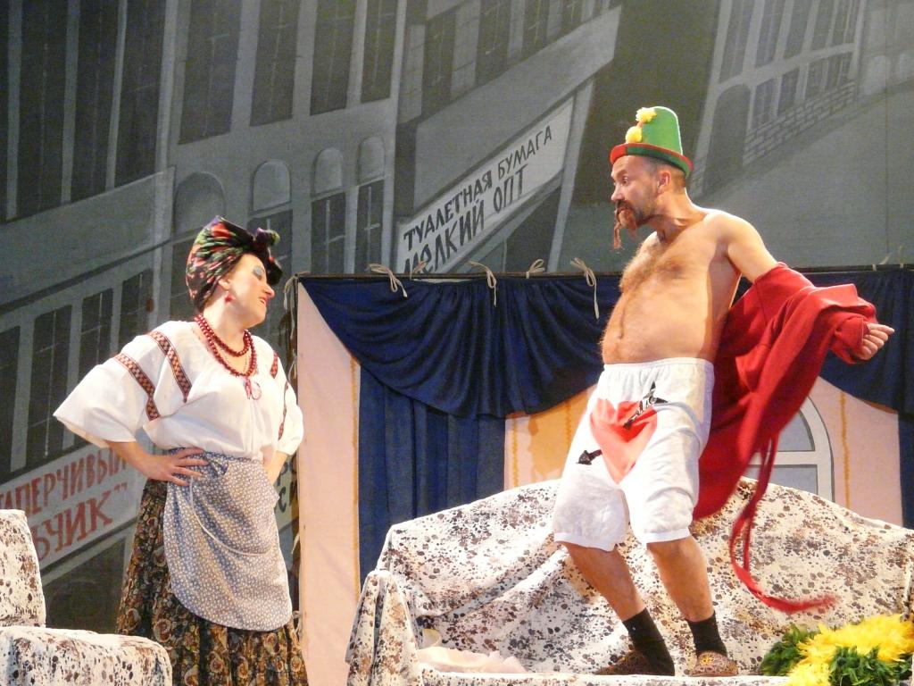 Московский театр порадовал Измаил Русланой Писанкой. Обещанные Панин и Бочкарева не приехали.