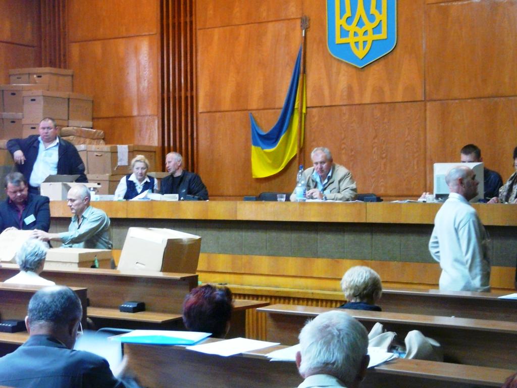 Измаил. 143 ОВК работает в усиленном режиме. Обработано 26 % голосов