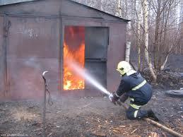 В Измаиле загорелся гараж