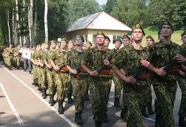 Одещина. Служить в армию отправились 50 новобранцев