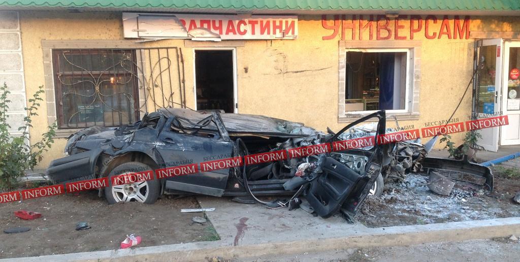 """dtp_v_tatarbynarah-1 Страшное ДТП в Татарбунарах:""""VW Passat"""" влетел в универсам. Есть жертвы! (фото, видео)"""