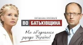 """Выборы-2012. """"Батькивщина"""" подтвердила факт договорённости с партией """"УДАР"""""""