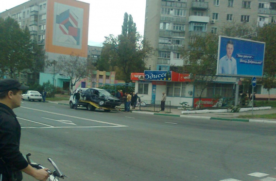 ДТП в Ильичёвске. Пострадал 21-летний пассажир