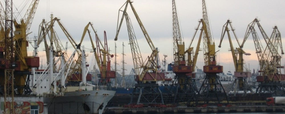 Порт Измаила подготовился к зимнему периоду работы