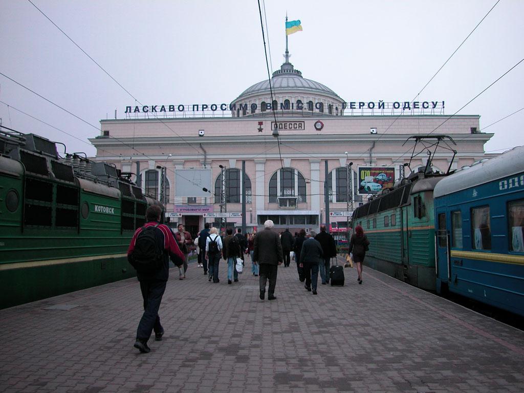 Сегодня на ЖД в Одессе заживо сгорел мужчина