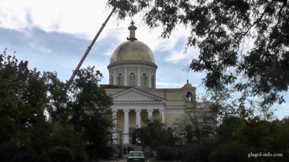 В Болграде завершается реставрация сгоревшего храма