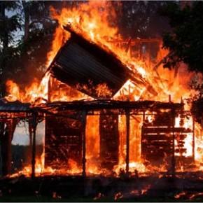 Белгород-Днестровский р-н. В селе Молога загорелся частный дом