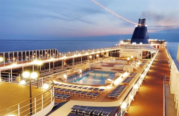 В Одесском порту пришвартовался лайнер MSC Lirica