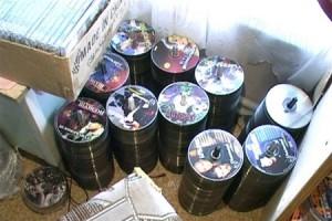 "На Одесчине задержали ""коллекционера"" пиратских дисков"