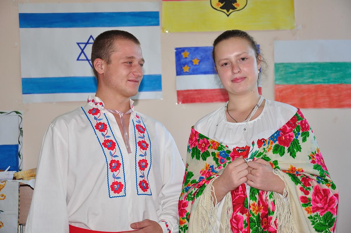 Измаил. Этнический парад Придунавья состоялся в ИГГУ. ФОТО