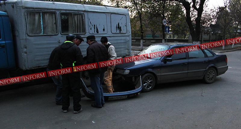 """ДТП в центре Измаила: """"Фольц"""" не поделил дорогу с ЗИЛом"""