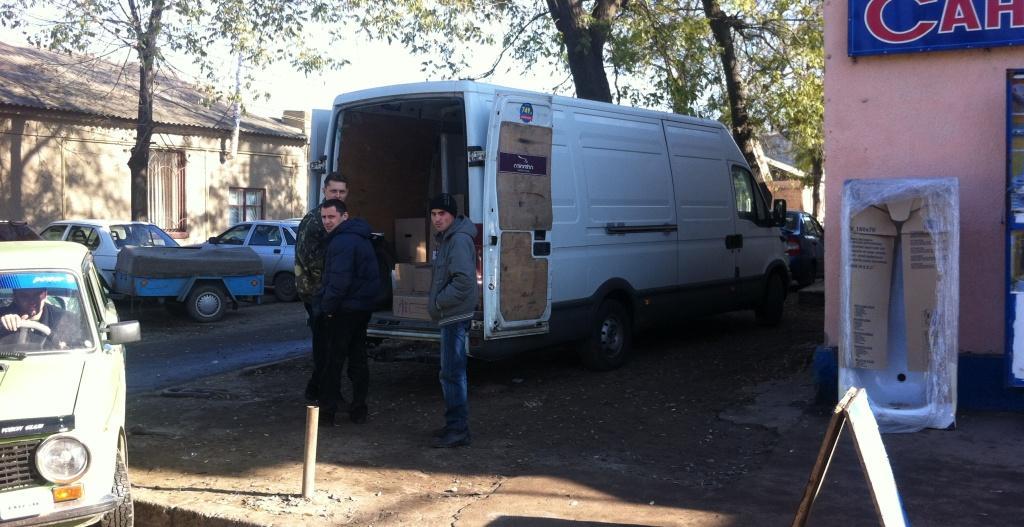 Измаил: транспортная анархия около центрального рынка (фото репортаж)