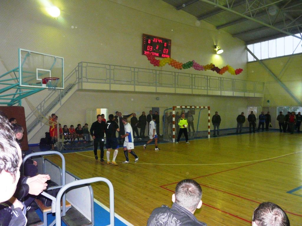 В Измаиле открыт чемпионат города по футзалу