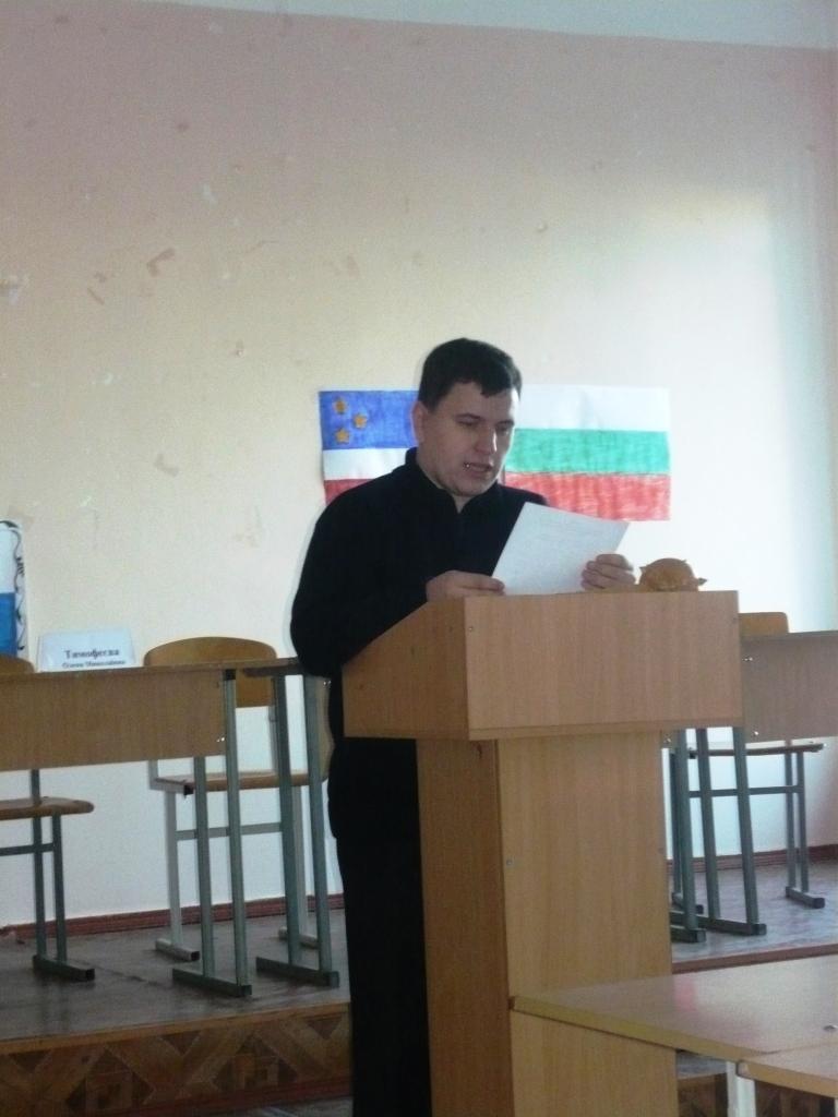 Измаил. Студенты-филологи и историки выбрали президента