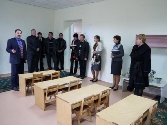 Саратский р-н. Вчера в селе Введенка открылся класс для дошкольников