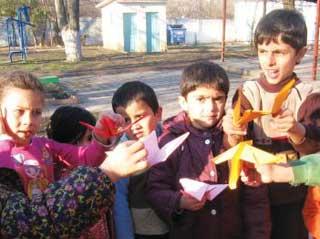 Ильичёвские дети-таланты встретились с семьями беженцев