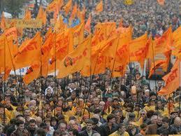 Сегодня Украина отмечает годовщину Оранжевой революции