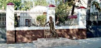 Памятник Пушкину в Измаиле
