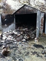 В Измаиле загорелся гараж. Пострадавших нет