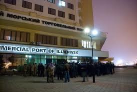 В Ильичевском порту – рост контейнерного оборота