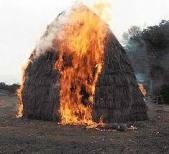 В Тарутино участились пожары. Сгорело уже 34 тонны сена