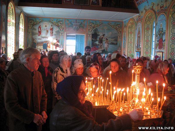 Килия.Свято-Дмитриевская церковь отметила православный праздник