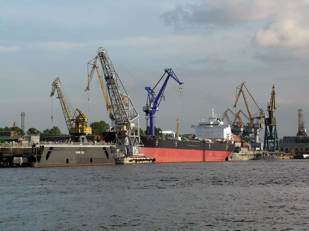 Общий грузооборот Измаильского порта за январь-ноябрь
