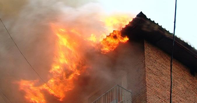 Измаильский район: пожар в с. Старая Некрасовка