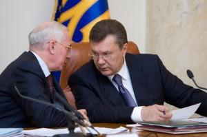 Президент уволил Азарова и отправил в отставку Кабмин