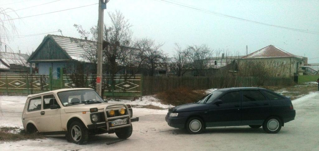 ДТП: в Килии столкнулись два ВАЗа