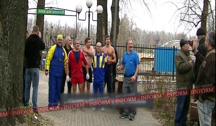 Измаил: Главный морж привез кубок из Киева. ФОТО