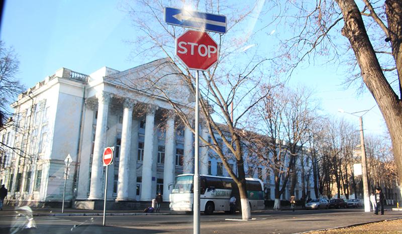 Измаил: На пересечении проспектов установили новый дорожный знак!