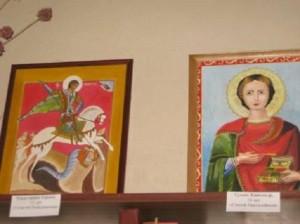 Рени: выставка рисунков на библейские сюжеты