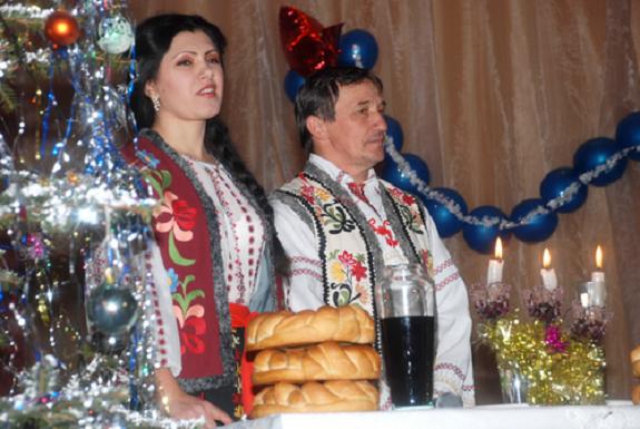 В Измаильском районе прошел фестиваль молдавских рождественских обрядов