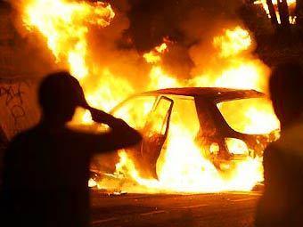 Пожар в Белгород - Днестровском: на стоянке горели автомобили