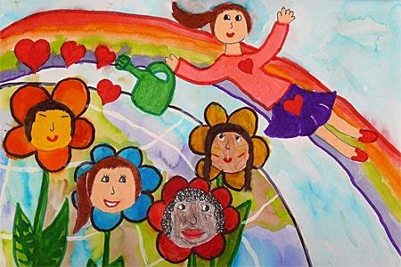 детские рисунки детей: