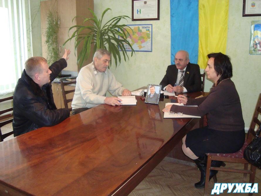 Председатель Болградской РГА встретился с жителями района