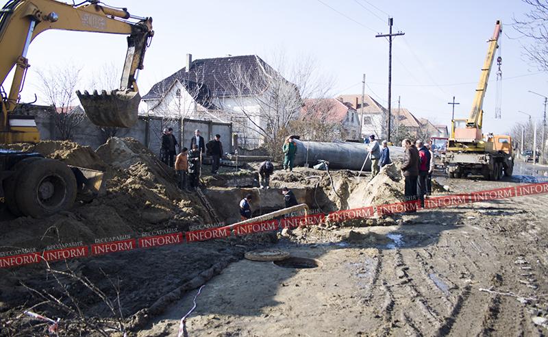 Измаил: опять Нахимова, опять канализация